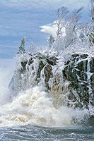 Tettegouche State Park, North Shore, Lake Superior, Winter, Ice