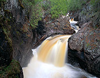 Cascade River State Park, waterfall, North Shore