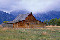 Moulton Barn, Mormom Row, Grand Teton National Park, Mountain, Barn