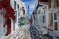 Mykonos Street II