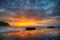 Pretty Beach Sunrise