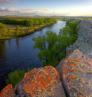 North Platte River, Saratoga
