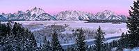 Snake River Sunrise Panorama