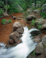 Vedauwoo, waterfall, Turtle Rock