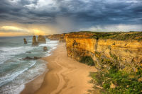 Twelve Apostles Approaching Storm