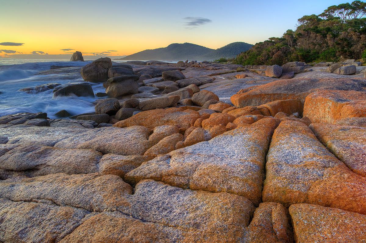 Bicheno, Tasmania, Sunrise, photo