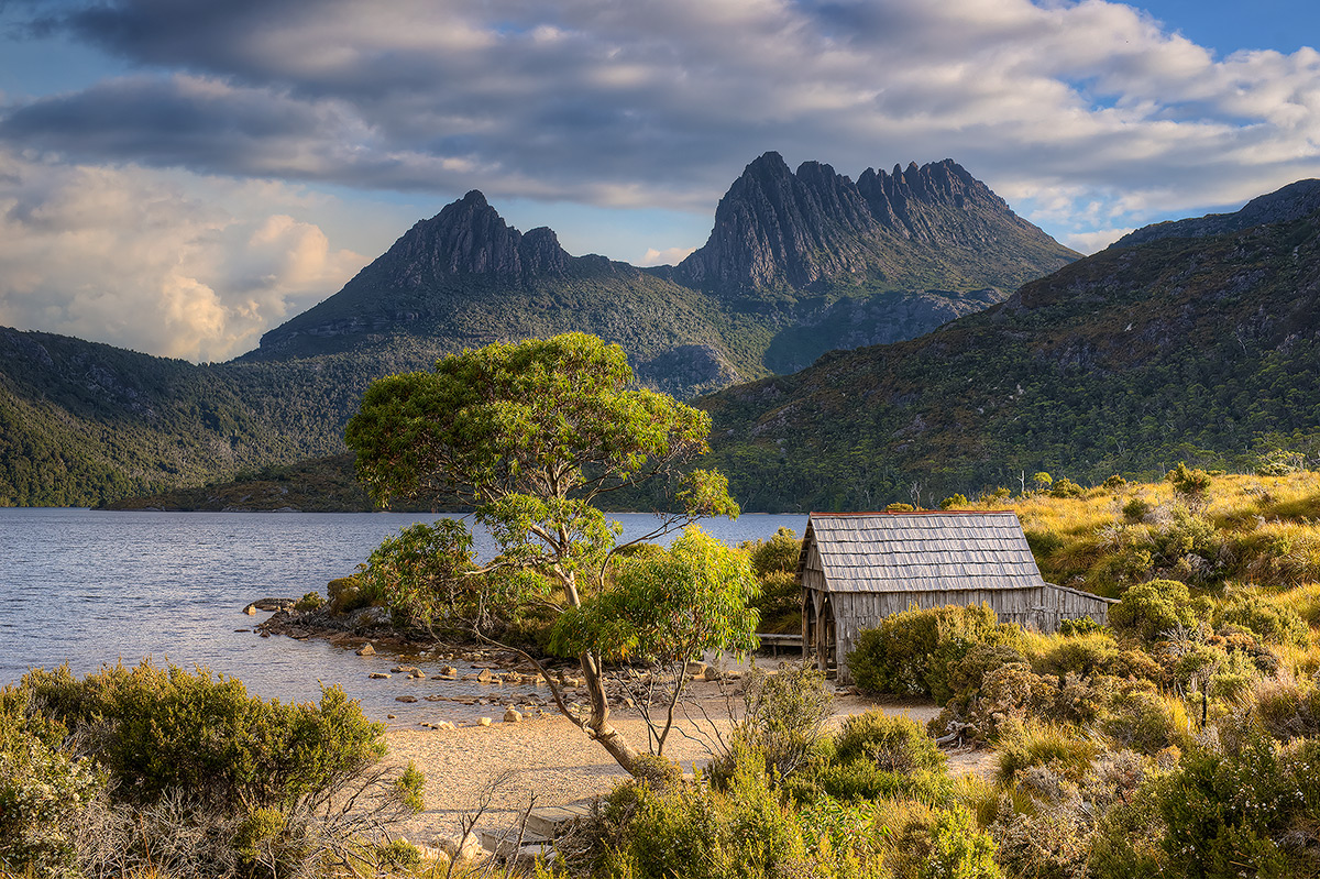 Cradle Mountain-Lake St Clair National Park, Cradle Mountain, Boat Shed, photo