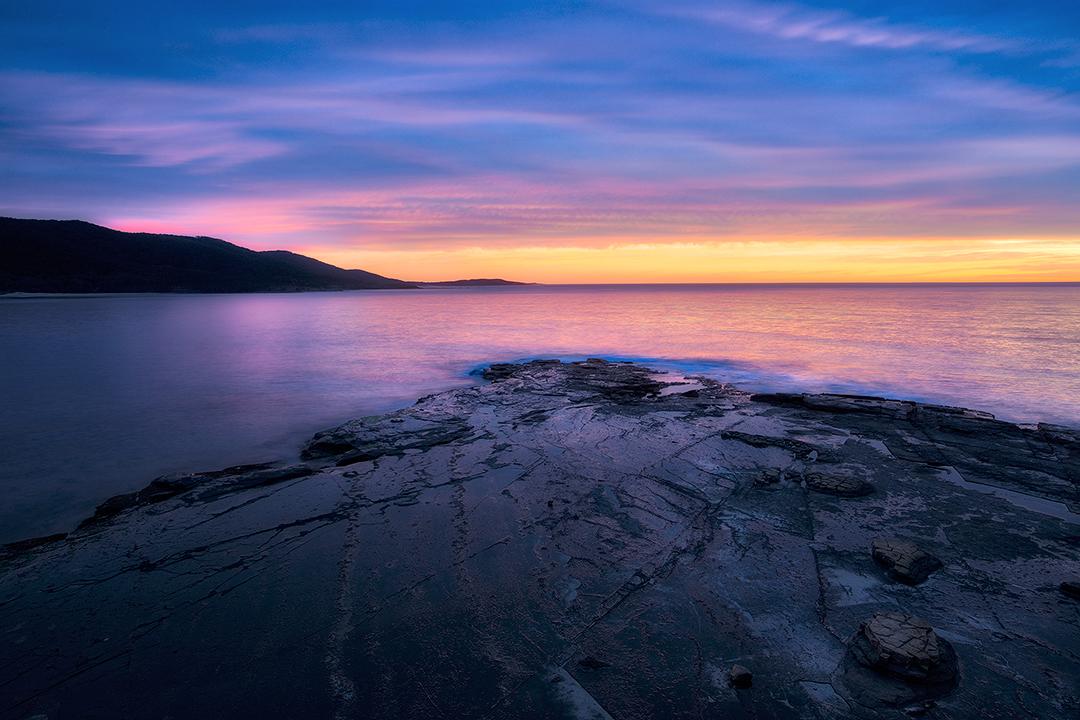 sunrise, moody, Depot, Beach, ocean
