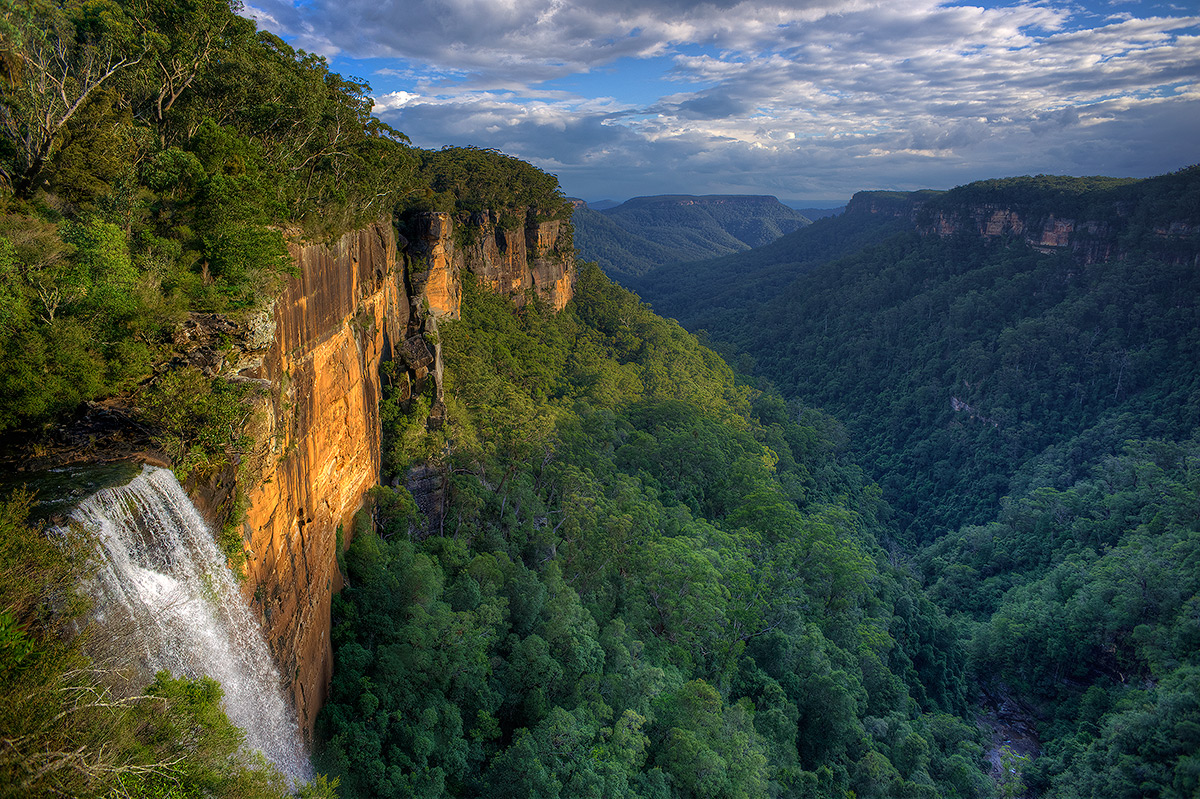 Morton National Park, Fitzroy Falls, Overlook, photo