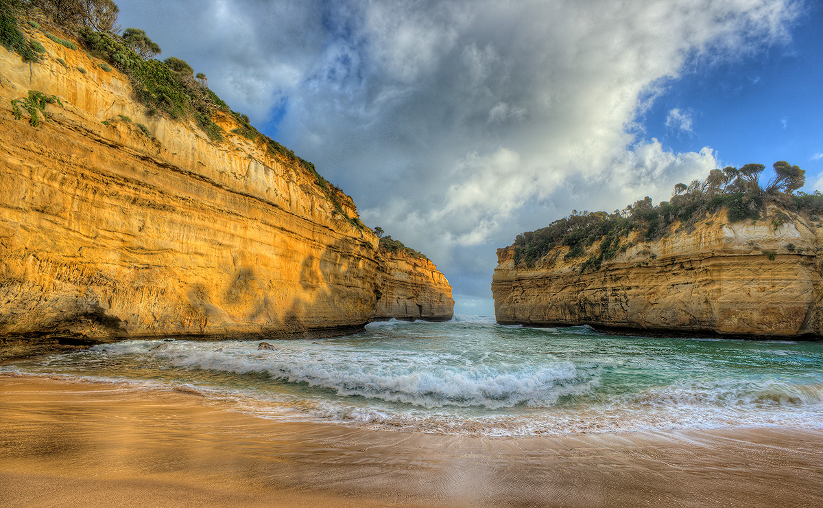 Loch Ard Gorge, Port Campbell National Park, Great Ocean Road, photo