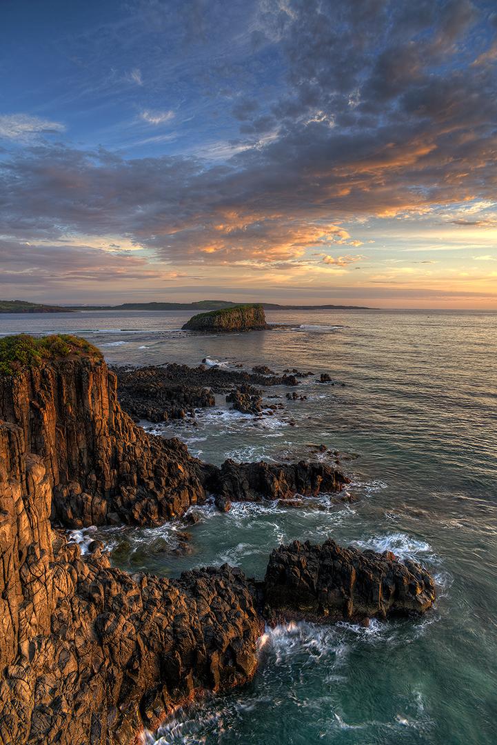 Sunrise, Minnamura, Headland, NSW, Australia, ocean