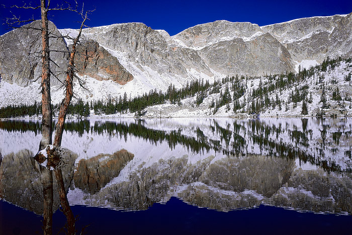Mirror Lake, Snowy Range, Lake, Mountain, photo