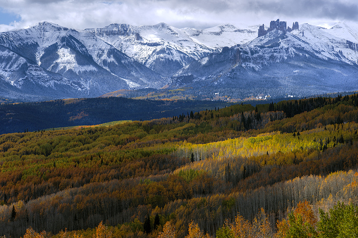 Castle Mountains, Crested Butte, Fall