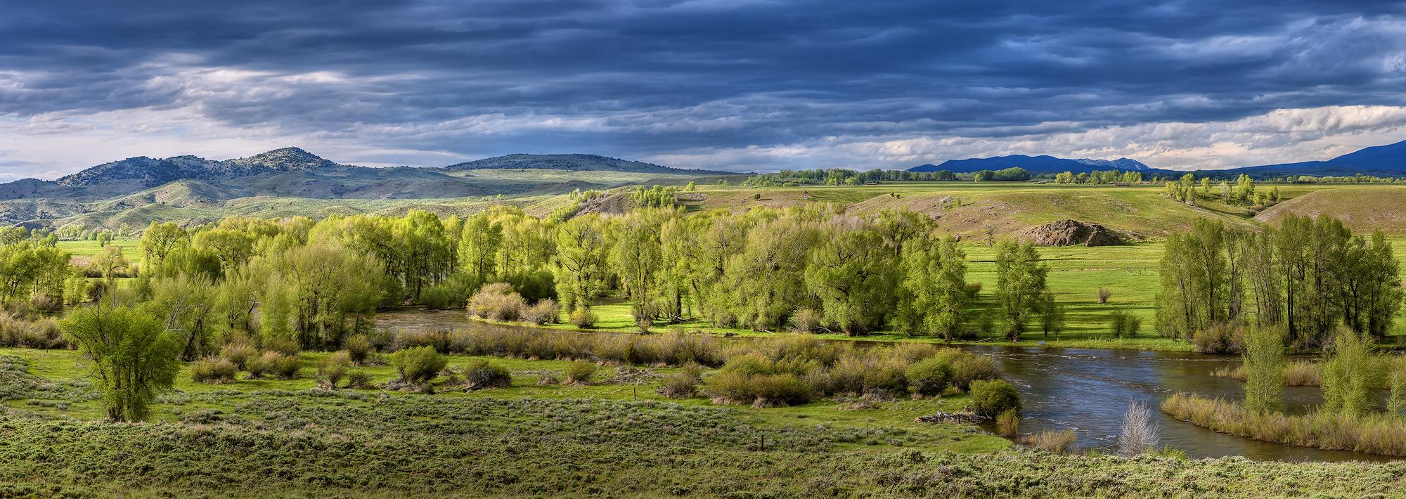 Platte River, Saratoga, Encampment, Spring, photo