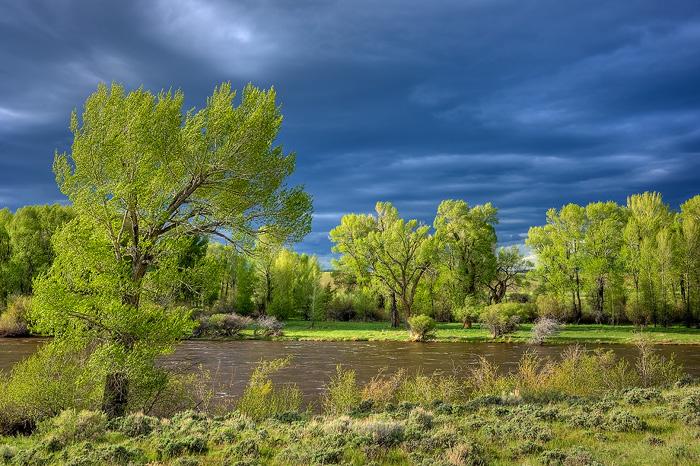 Platte River, Saratoga, photo
