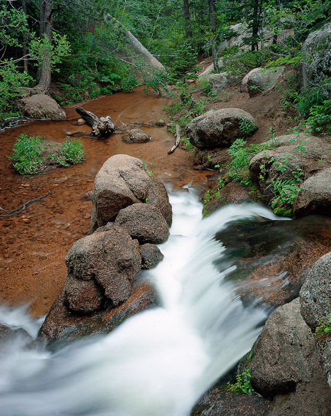 Vedauwoo, waterfall, Turtle Rock, photo
