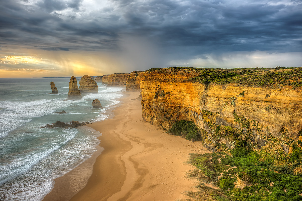 Port Campbell National Park, Twelve Apostles, Storm, photo