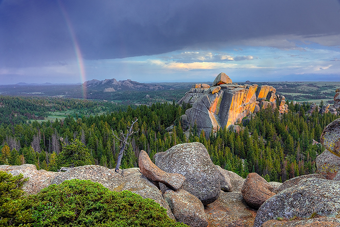 Vedauwoo, Rainbow, Medicine Bow National Forest, photo