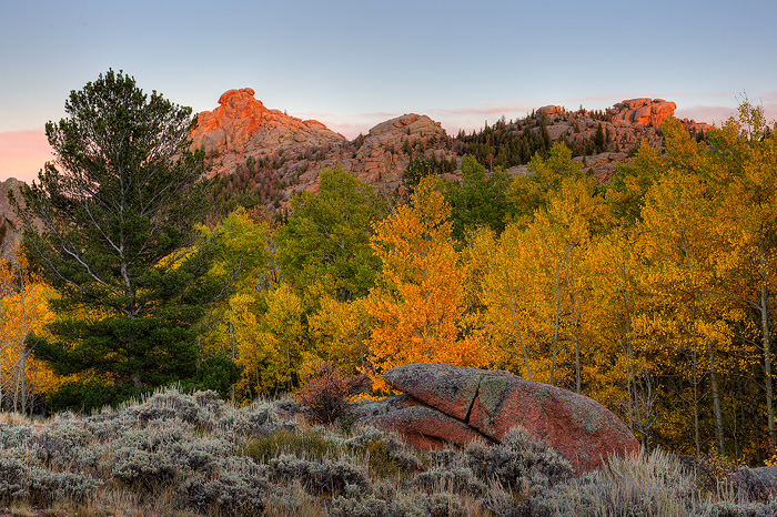 Vedauwoo, Autumn, photo