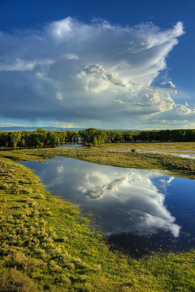 North Platte River, Saratoga, photo
