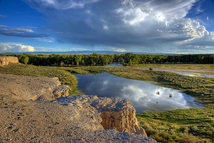 North Platte River, Saratoga, photo